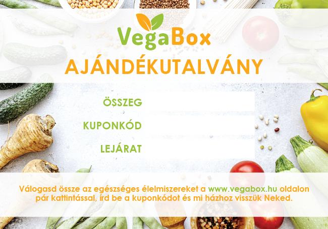Ajándékutalvány - Vegabox csomag
